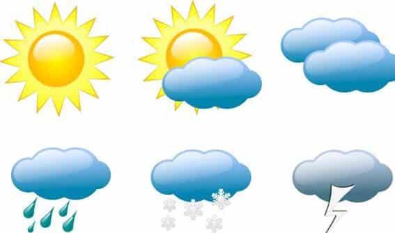 Học giao tiếp nhanh với chủ đề thời tiết khí hậu.